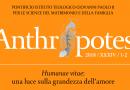 Humanae vitae: una luce sulla grandezza dell'amore (Anthropotes 2018/1-2)