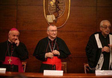 Cardinale Pietro Parolin al Dies Academicus al Pontificio Istituto Teologico Giovanni Paolo II