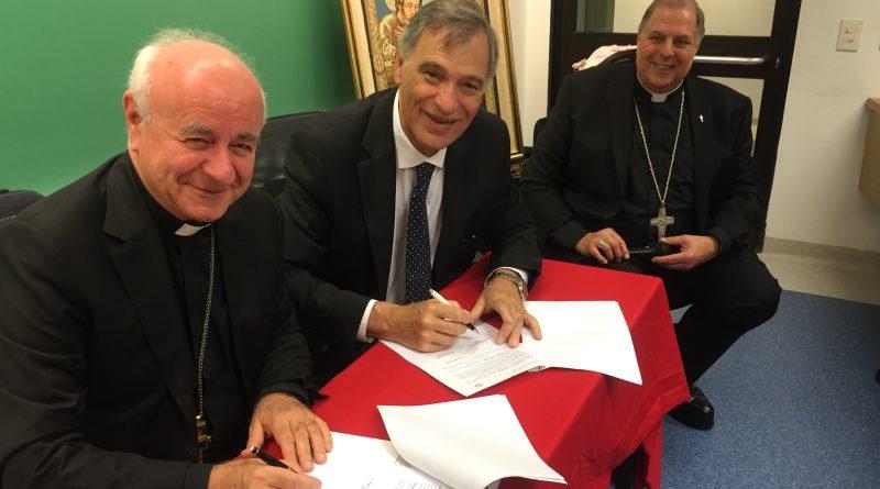 Firmato un accordo tra l'Istituto per il matrimonio e la famiglia dell'Università Cattolica dell'Argentina e il nostro Istituto