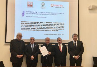 El Vaticano, con la UCAM e Incyde, forma en emprendimiento y empleo a las familias de los países más desfavorecidos