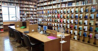 Riaperta la biblioteca dell'Istituto