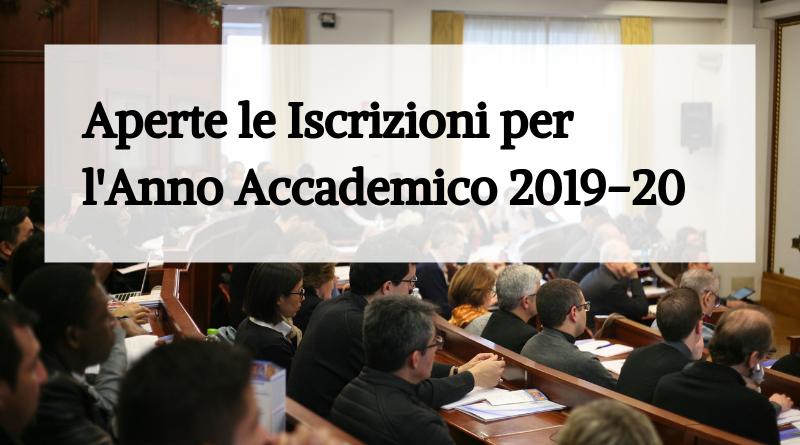 È online l'Offerta Formativa per l'Anno Accademico 2019-2020