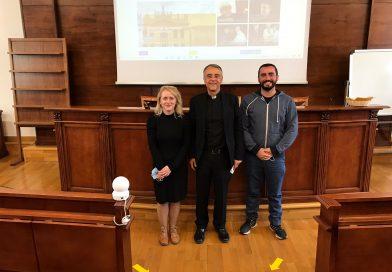 Lidiia Batig e Jesus Rafael Zuniga Umana sono i rappresentanti degli studenti