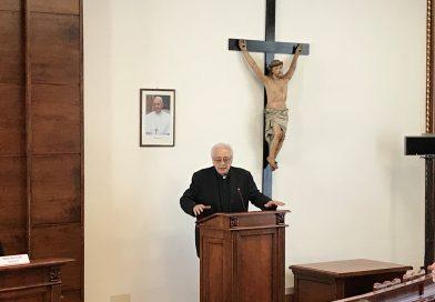 Il Preside dell'Istituto, Mons. Pierangelo Sequeri, presenta l'Offerta Accademica 2019-2020