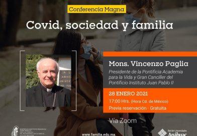 Covid, sociedad y familia – incontro organizzato dalla sezione messicana