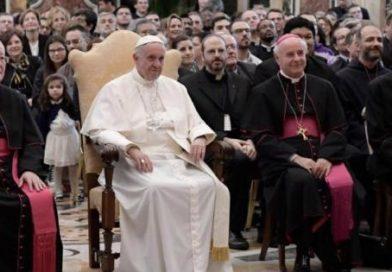 Udienza Pontificio Istituto Giovanni Paolo II, 27.10.2016